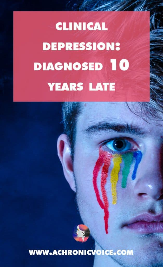 Here's what I realised, when I finally received a diagnosis after 10 years. More awareness needs to be raised on depression and other mental illnesses. | A Chronic Voice