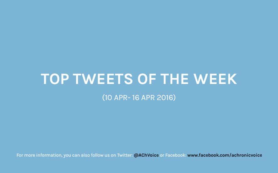 Top Tweets of the Week (10 Apr – 16 Apr 2016)
