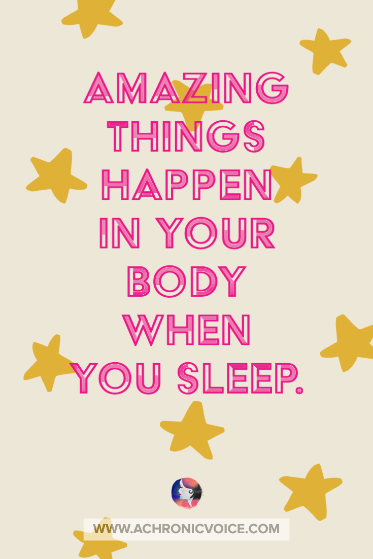 Amazing Things Happen in Your Body When You Sleep | A Chronic Voice