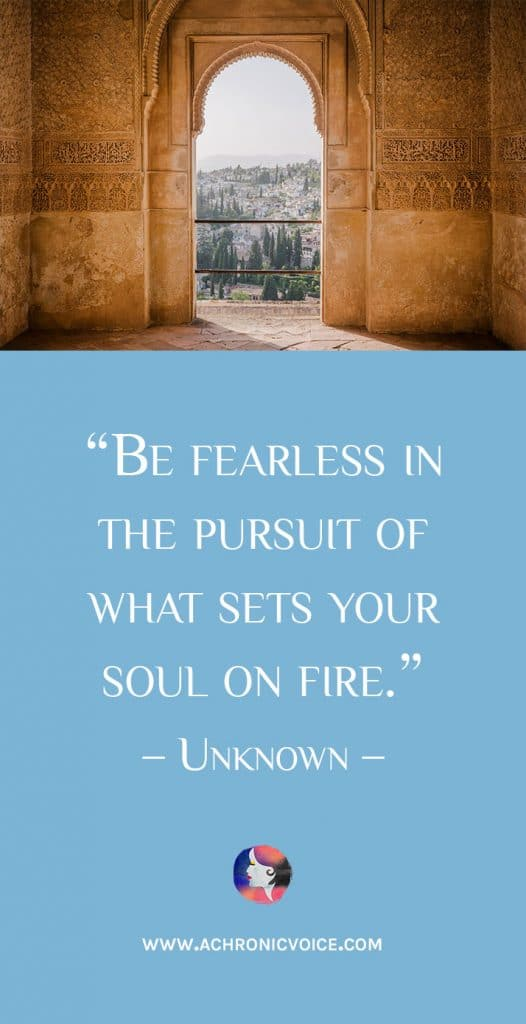 Free Wallpapers on A Chronic Voice: Seeking Passion - What Sets Your Soul on Fire?