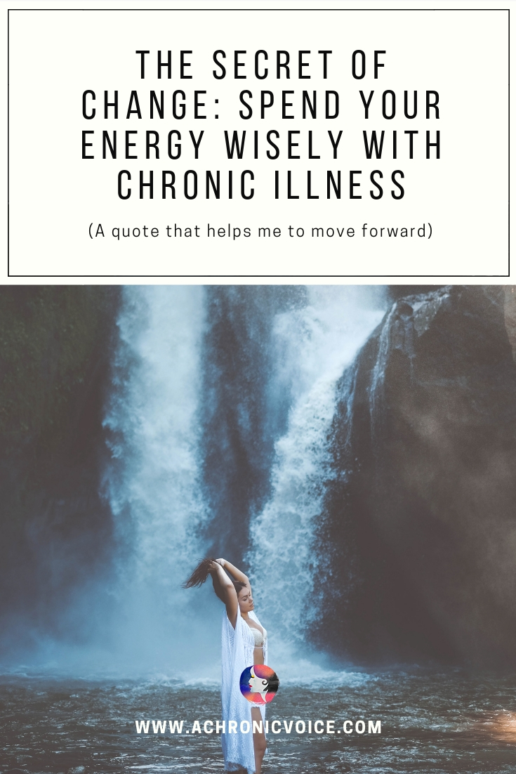 Chronic illness is a monster consumer of energy, leaving little to spare. Leave the past behind so you can change your life and build a better future. Click to read post or pin to save and share. ////////// Chronic Illness / Chronic Pain / Mental Health / Mental Illness / Spoonies / Wellness / Self Care & Awareness #ChronicIllness #MentalHealth #spoonie