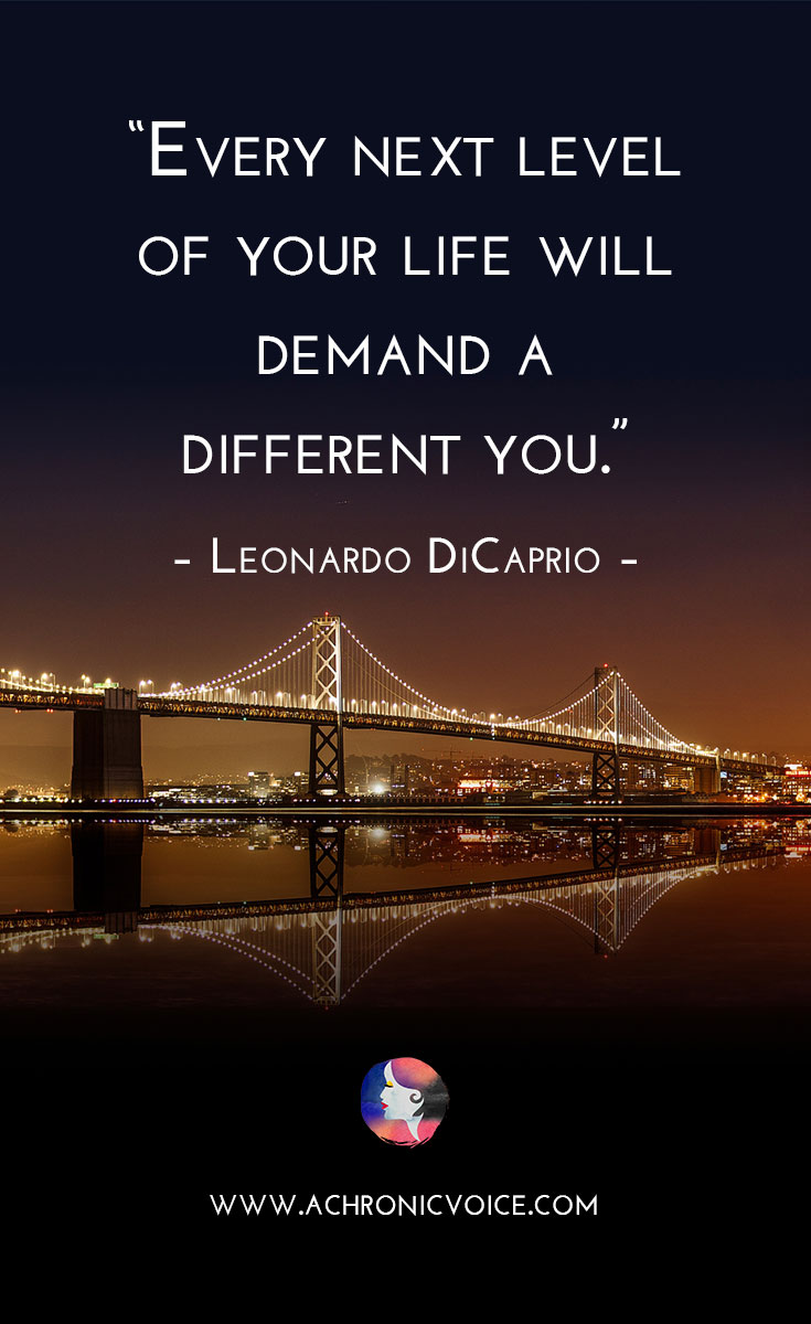 Quote by Leonardo di Caprio Pinterest Image