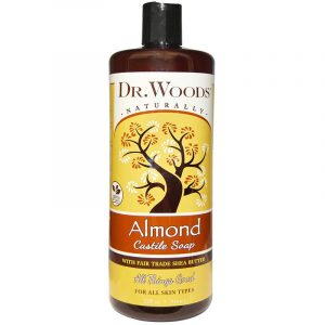 Dr. Woods Castile Soap, 32 fl oz (946 ml) (Almond)