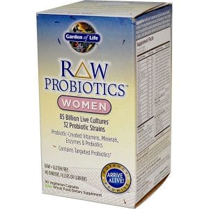 Garden of Life, RAW Probiotics, Women, 90 Veggie Caps