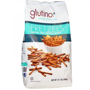 Glutino, Gluten Free Pretzel Sticks, 14.1 oz (400g)