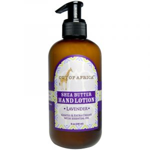 Out of Africa, Lavender Shea Butter Hand Lotion, 8 oz (240 ml)