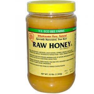 Y.S. Eco Bee Farms, Raw Honey, U.S. Grade A (3lbs)