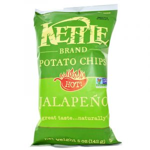Kettle Foods: Potato Chips, 5 oz (142 g) (Hot! Jalapeno)