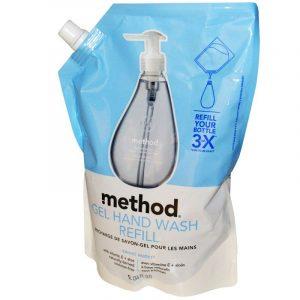 Method, Gel Hand Wash Refill, Sweet Water, 34 fl oz (1 L)
