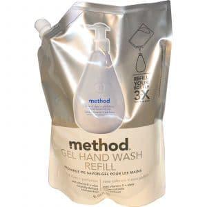 Method, Gel Hand Wash Refill, Free of Dyes + Perfumes, 34 fl oz (1L)