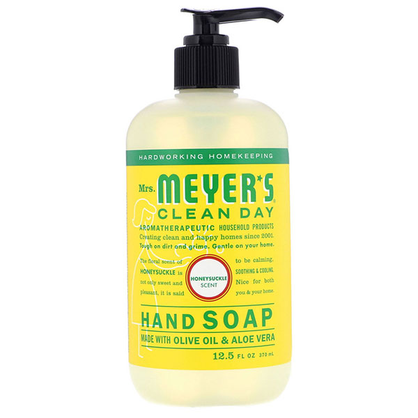 Mrs. Meyers Clean Day, Hand Soap, Honeysuckle Scent,   12.5 fl oz (370 ml)