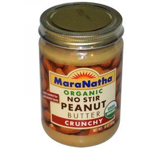 MaraNatha, Organic No Stir Peanut Butter, Crunchy, 16 oz (454 g)