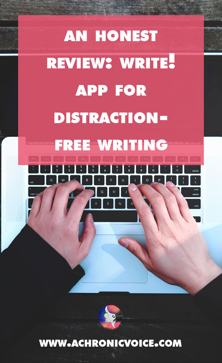I received a free license for Write, an exciting new writing app on the market! Let's see how it can improve your writing process with this honest review. |A Chronic Voice