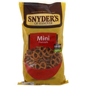 Snyder's, Mini Pretzels, Fat Free, 9 oz (255.2 g)