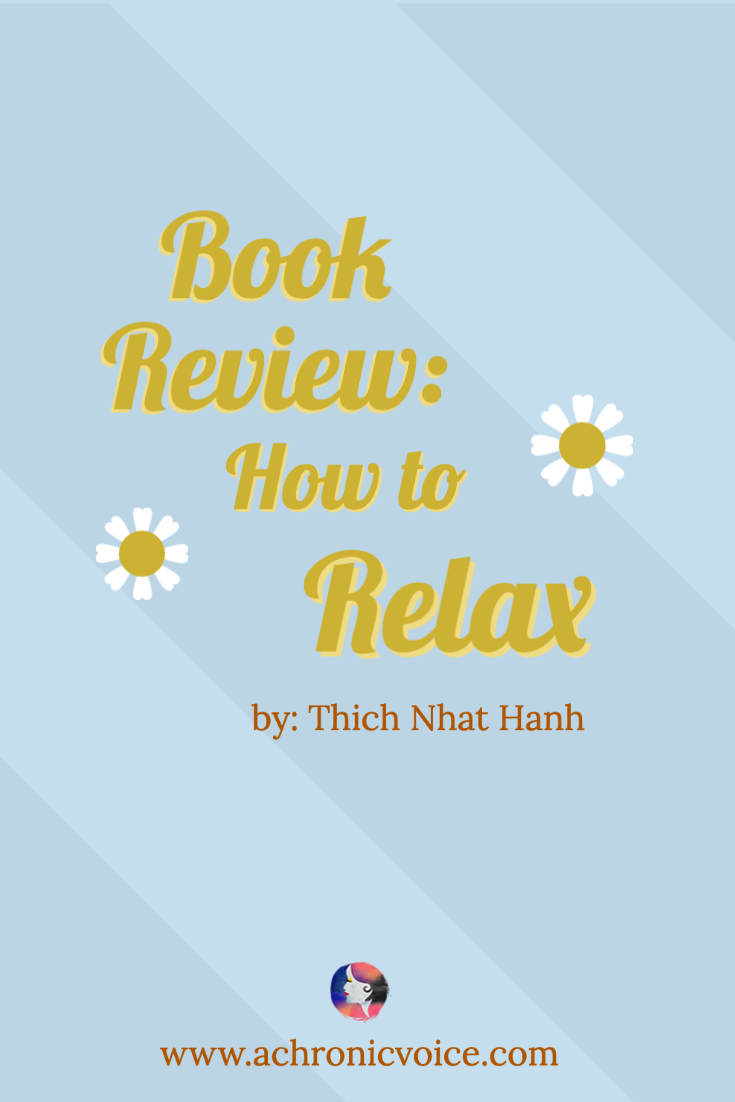 Book Review: How to Relax by Thich Nhat Hanh
