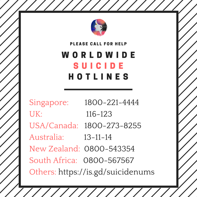 Worldwide Suicide Hotlines