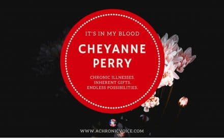 """It's in My Blood"" Feature #2: Cheyanne Perry of ""Hospital Princess"" 