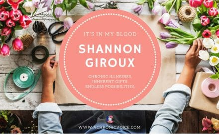 """It's in My Blood"" Feature #4: Shannon Giroux 
