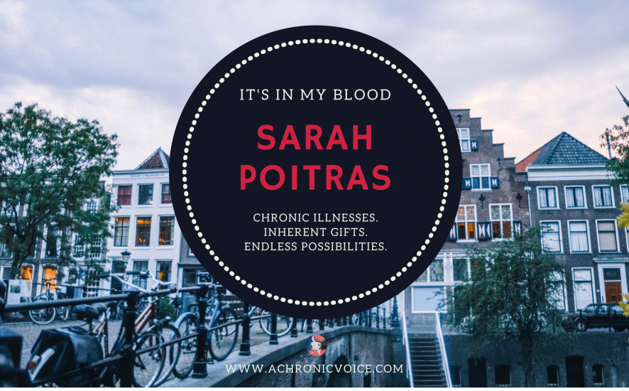 'It's in My Blood': Sarah Poitras - Round the World with a Lung Disease Featured Image