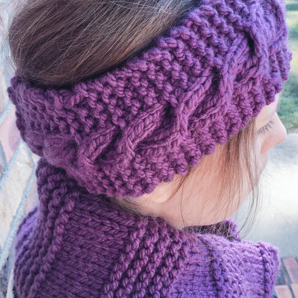 """Cabled headbands by Cheyanne Perry of """"Hospital Princess"""" 