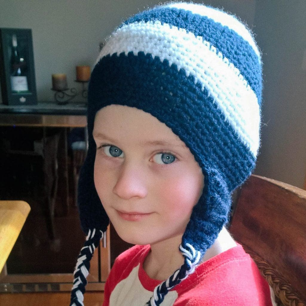Beautiful knit for a beautiful kid!