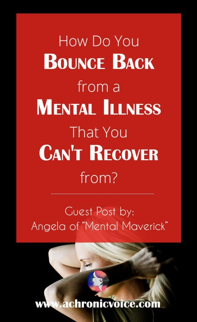 "Angel of ""Mental Maverick"" shares with us her coping methods and insightful tips on how she motivates herself to recover from a mental illness setback. Click to read or pin to save for later. 