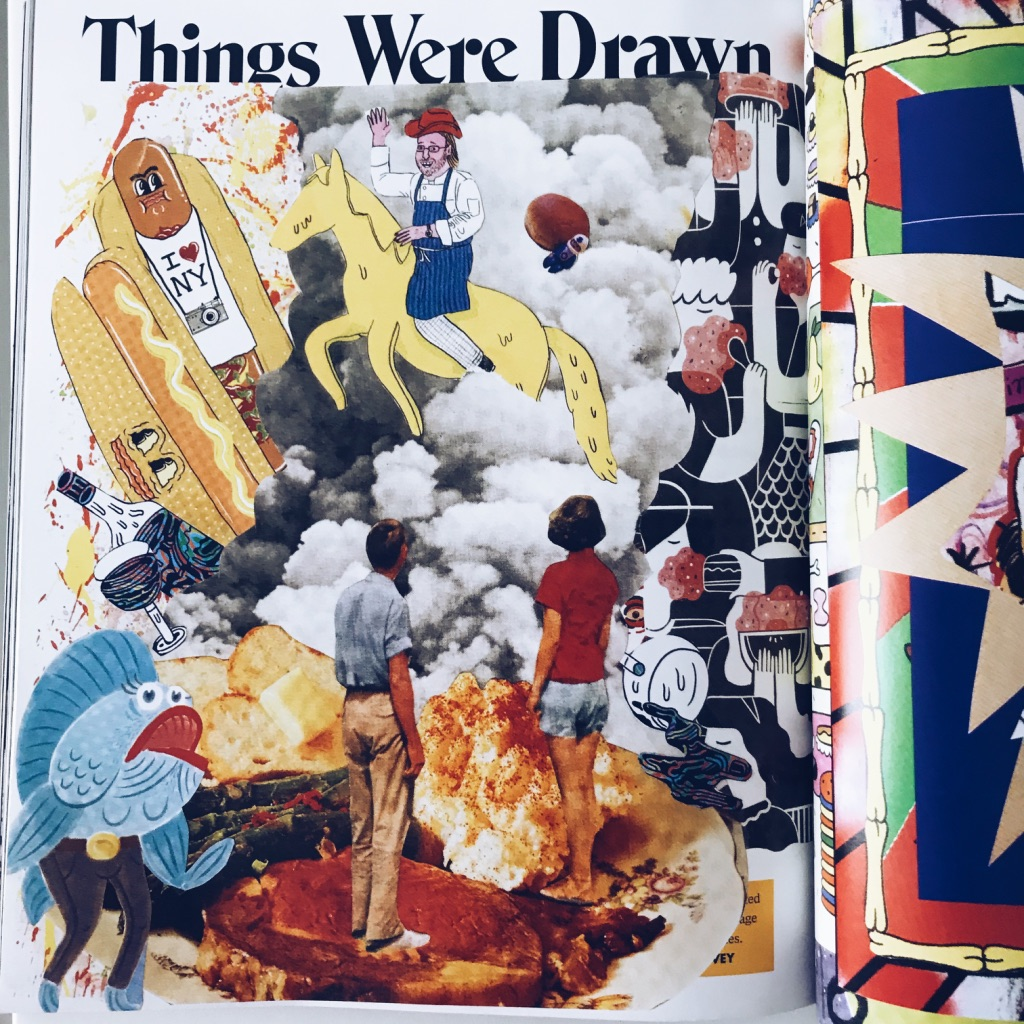 Things were drawn. Lucky Peach's last issue ever magazine review. | www.achronicvoice.com