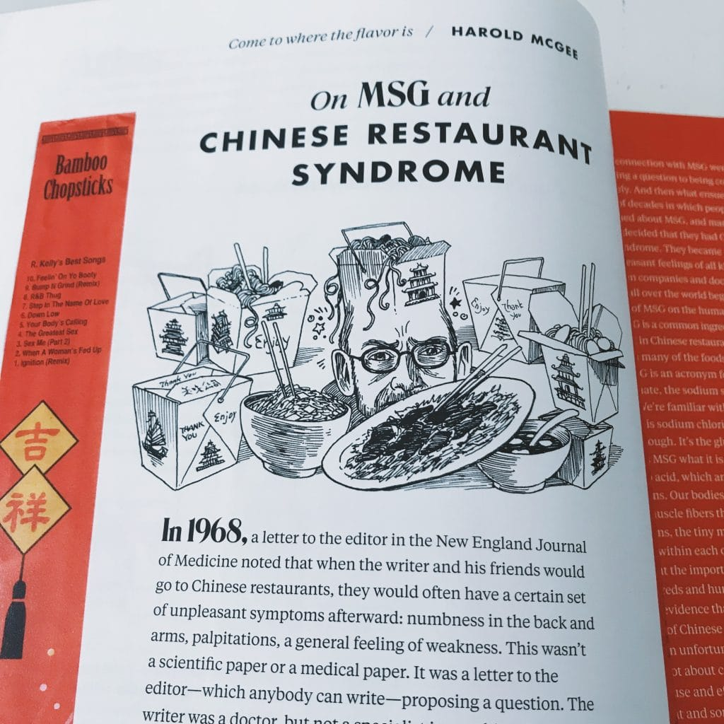 On MSG and Chinese Restaurant Syndrome. Lucky Peach's last issue ever magazine review. | www.achronicvoice.com