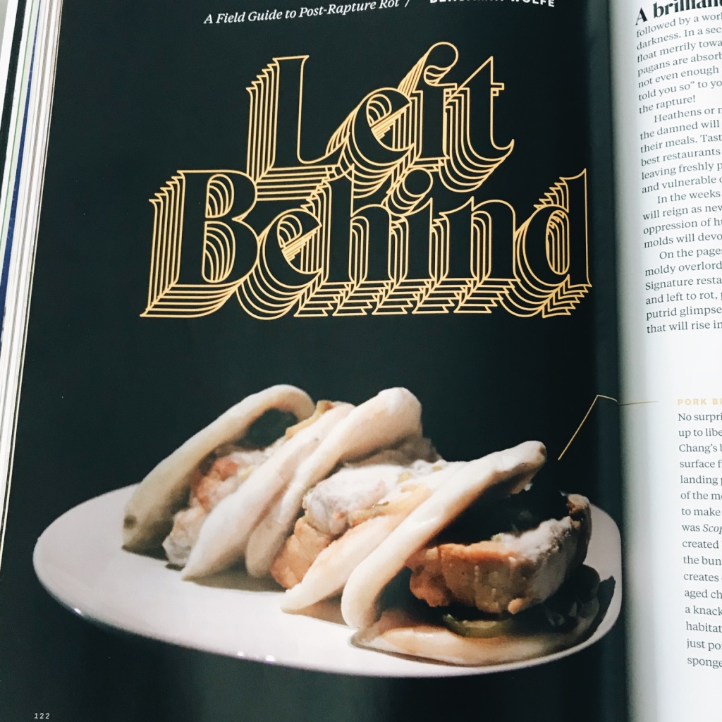 Left Behind - mould & bacteria. Lucky Peach's last issue ever magazine review. | www.achronicvoice.com