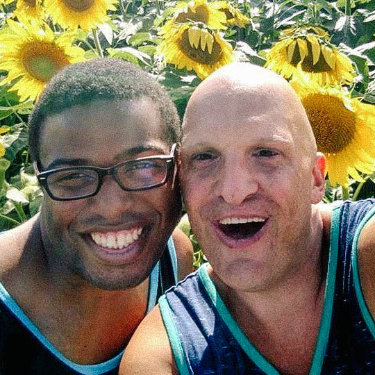 Near or far with Best friend Shawn in a Sunflower Garden Summer 2016