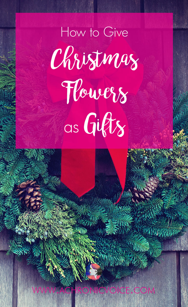 Christmas is the season for giving. Flowers make great gifts for expressing your love to family, friends, and that special someone in your life! | www.achronicvoice.com | #achronicvoice #christmasflowers #floralgifts #thatflowershop #localflorist