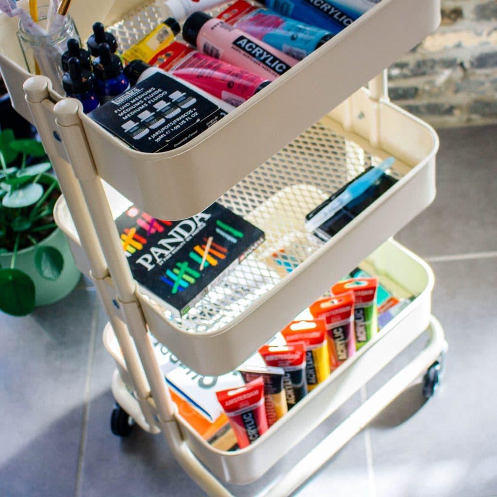 Nice art supplies!