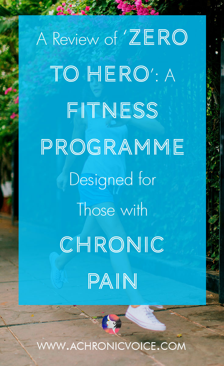 I had the wonderful privilege of trying out the Zero to Hero online workout programme, designed and run by Megan Densmore. It is based on pilates and tailored for those who live with chronic pain such as fibromyalgia, who are unable to keep up with a full on workout. Click to read review or pin to save for later. | www.achronicvoice.com | #achronicvoice #chronicillness #healthylifestyle #fitness #exercise #spoonielife