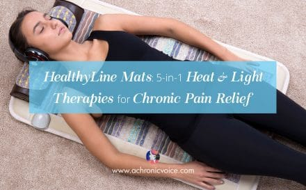 HealthyLine Mats: 5-in-1 Heat & Light Therapies for Chronic Pain Relief | www.achronicvoice.com