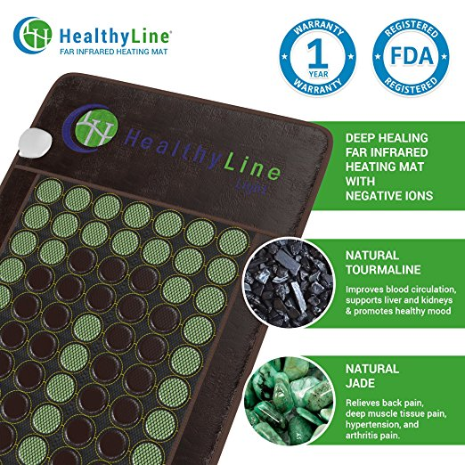 HealthyLine Far Infrared Rays (FIR) Mat with Negative Ions.