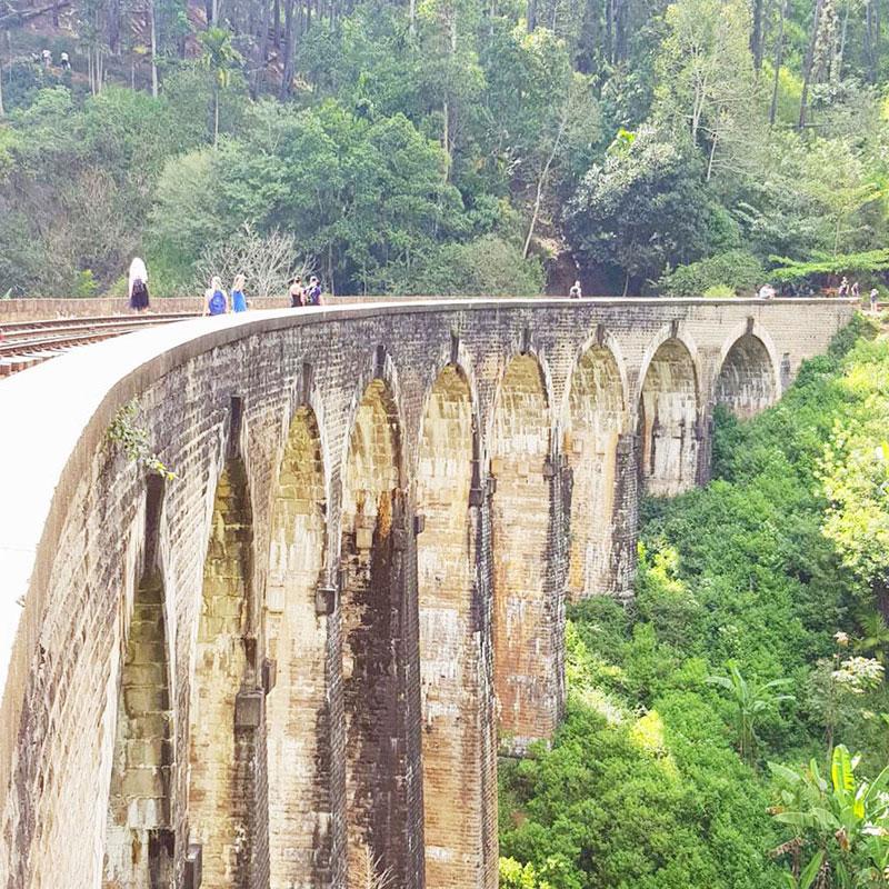 The beautiful Nine Arches Bridge, Ella, Sri Lanka. | www.achronicvoice.com