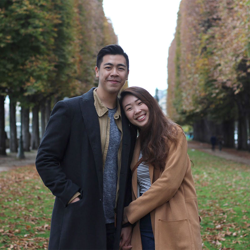 Anna & Zhiwei, co-founders of An Acai Affair & Harvest, Singapore
