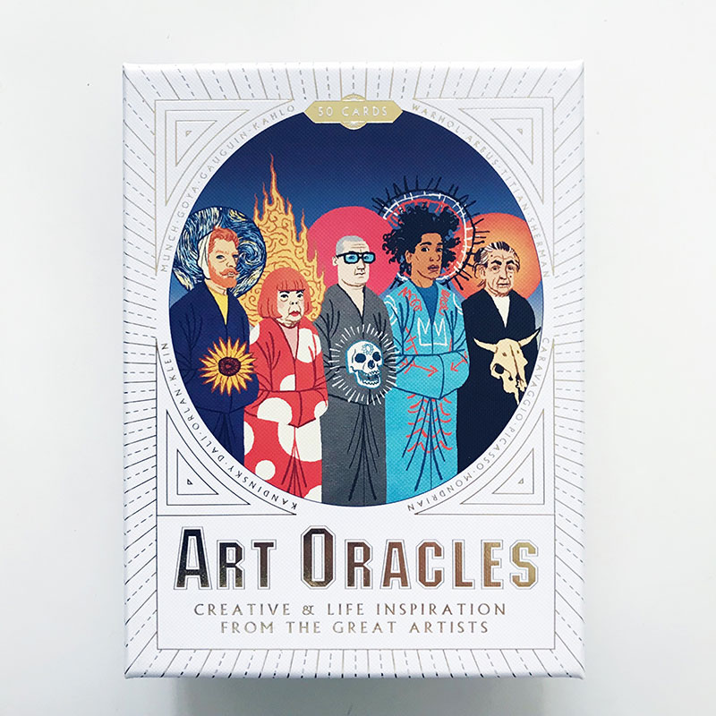 Art Oracle cards | www.achronicvoice.com