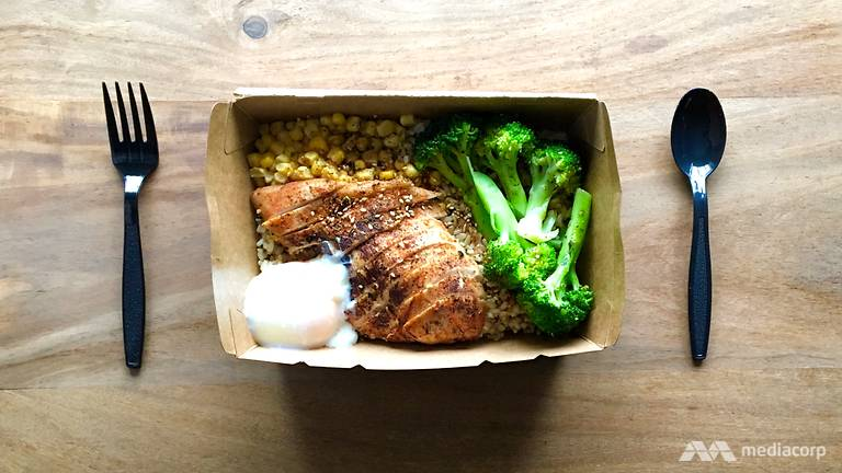 Delicious grain and protein bowl at Harvest!   www.achronicvoice.com