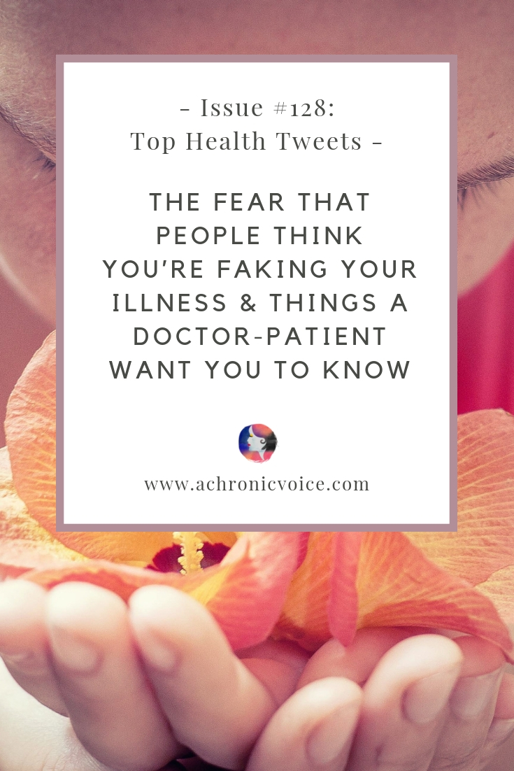 In this issue: A common fear that people might think we're faking our illness, just because we can still get stuff done on the good days. Things a doctor who's also a patient want people to know. Click to read more or pin to save for later. ////////// chronic pain / invisible illness / spoonie travels / healthcare #spoonie #chronicillness #chronicpain