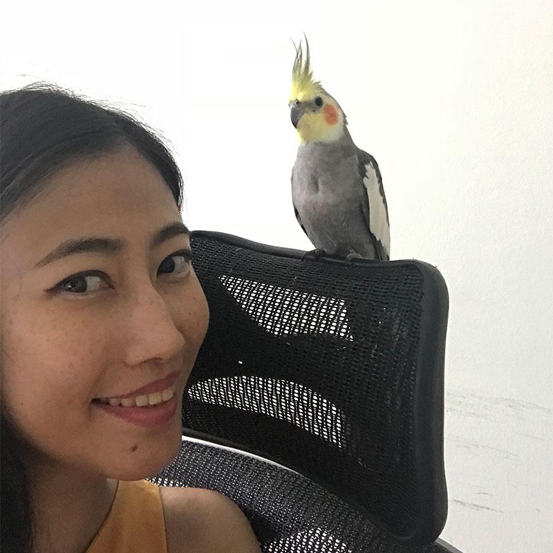 Weird bird lady   www.achronicvoice.com