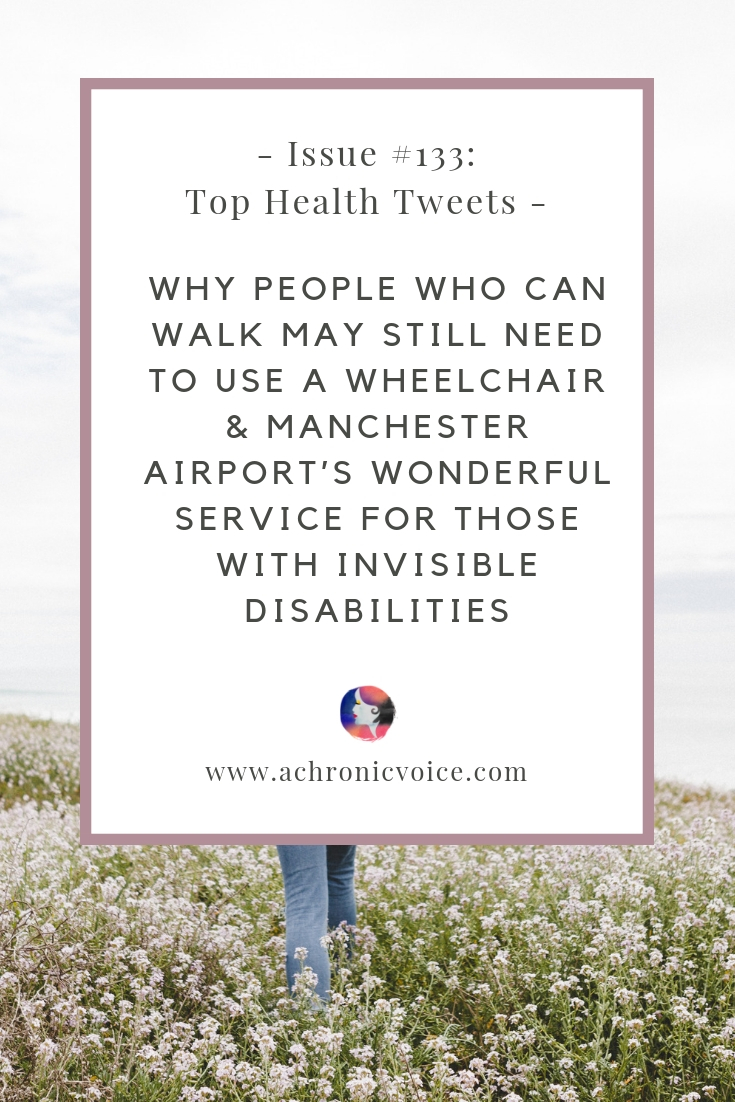 In this issue: A good starting point to improve my gut health, as a person with chronic, inflammatory diseases. Manchester airport's wonderful service to help those with invisible disabilities travel with greater ease. Click to read more or pin to save for later. ////////// health news / chronic illness / spoonies / invisible disabilities / mental health / self care & awareness / healing #invisibleillness #tophealthtweets #healthnews #spoonies #disability
