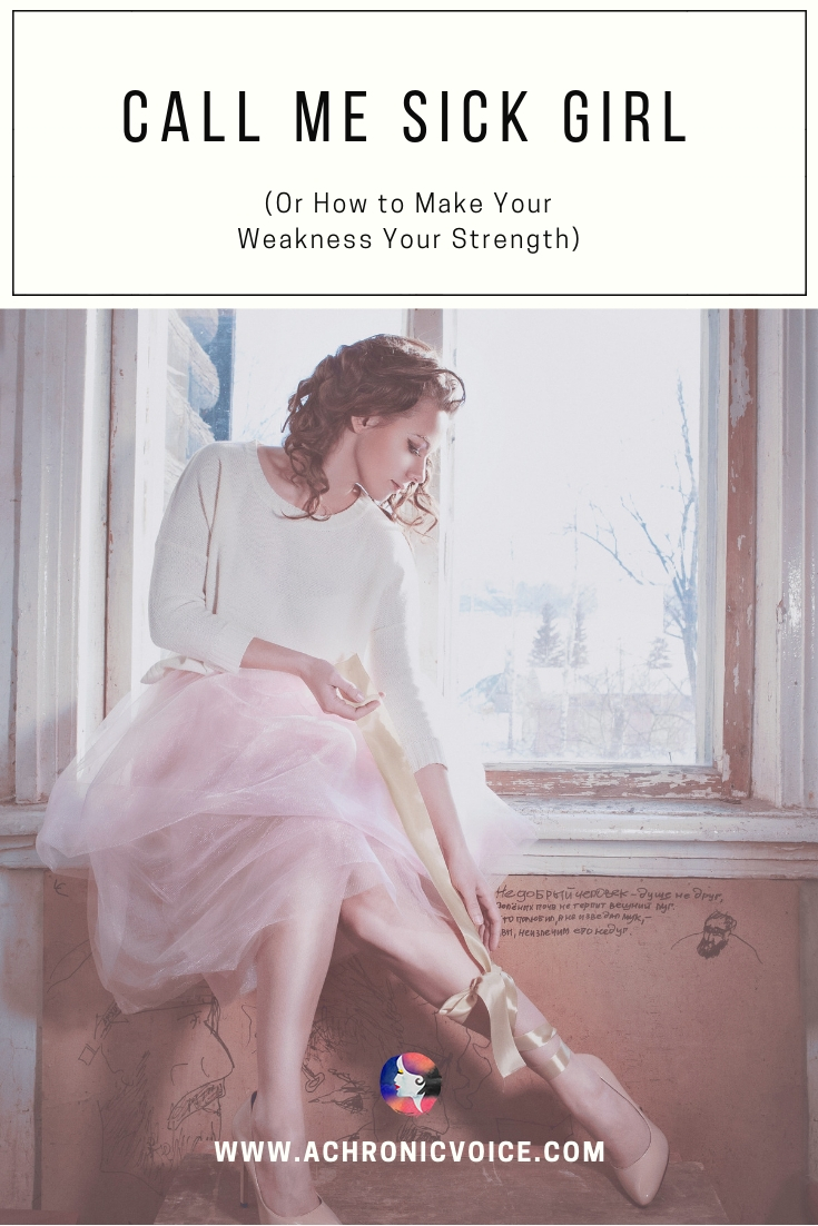 Many with chronic illnesses don't like to be identified by their sickness. Here's why I want people to know that I am, and how to turn it into a strength. Click to read or pin to save and share. ////////// Chronic Illness / Spoonies / Mental Health / Self Worth & Identity / Young Adults / Sickness #ChronicIllness #MentalHealth #Spoonies #perspective