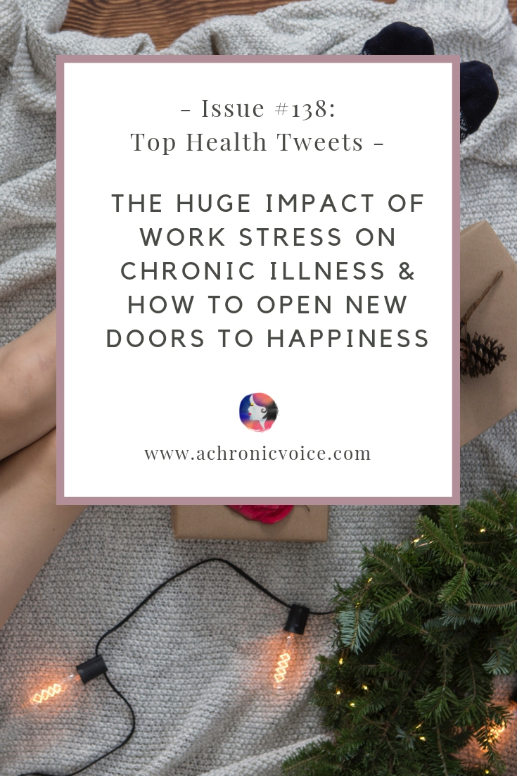 In this issue: How quitting my job led to my first real improvement in health. Acknowledgement that you're not perfect can open many new doors to happiness. Click to read more, or pin to save and share. ////////// Chronic Illness / Pain Management & Relief / Health & Wellness / Mental Health / Spoonies / Self Care & Awareness / Stress Management #ChronicIllness #ChronicPain #HealthNews #stress