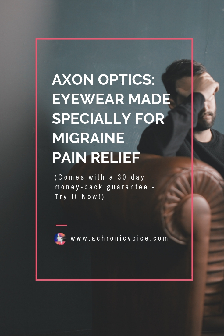 Axon Optics' use FL-41 filters on their glasses & contact lens, which help to block out migraine inducing lights. Comes in a variety of stylish frames. Click to find out more or pin to save and share. ////////// Migraines / Chronic Pain / Pain Management & Pain Relief / Glasses & Contact Lens / Health & Wellness / Axon Optics /  Spoonie #ChronicIllness #ChronicPain #Migraine #PainRelief #PainManagement