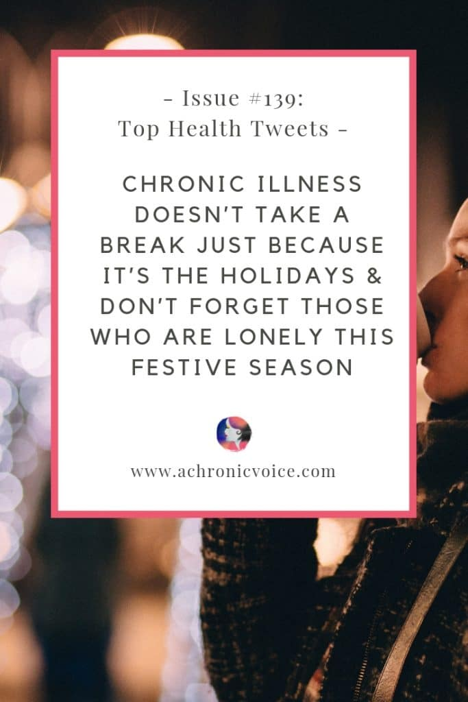 In this issue: When society sets cancer as the benchmark illness, and downplays other forms of pain compared to it. Living with chronic illness can impact your self-worth, and how to forgive yourself in order to move forward. Click to read more or pin to save & share. ////////// Chronic Illness / Health News / Society & Humanity / Christmas Holidays / Spoonies / Cancer / Mental Health / Depression / Self-Care, Self-Awareness & Self-Worth #ChronicIllness #SelfAwareness #HealthNews