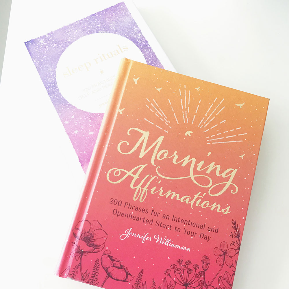 'Morning Affirmations' & 'Sleep Rituals' by Jennifer Williamson | A Chronic Voice