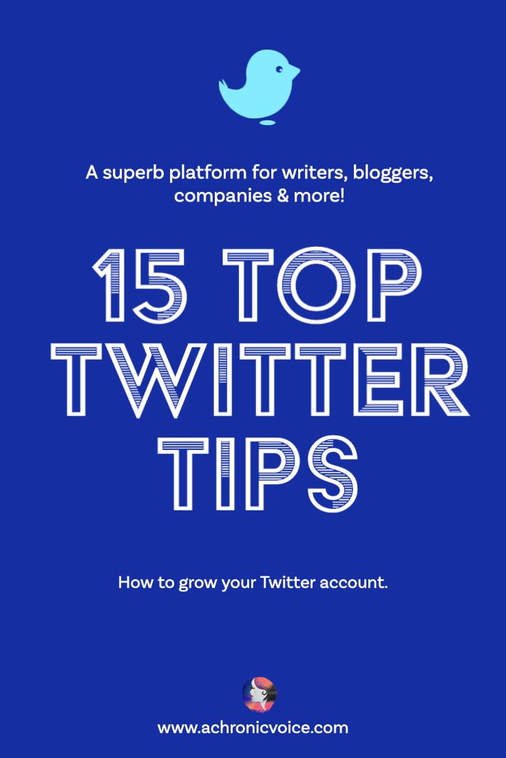 15 Top Twitter Tips