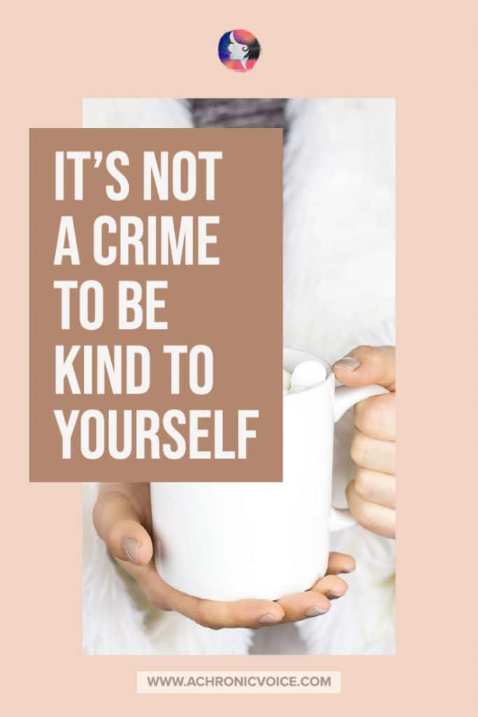 It's Not a Crime to be fKind to Yoursel