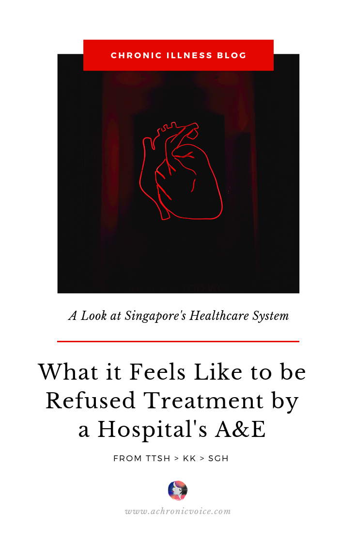 What it Feels Like to be Refused Treatment by a Hospital's A&E Pinterest Image